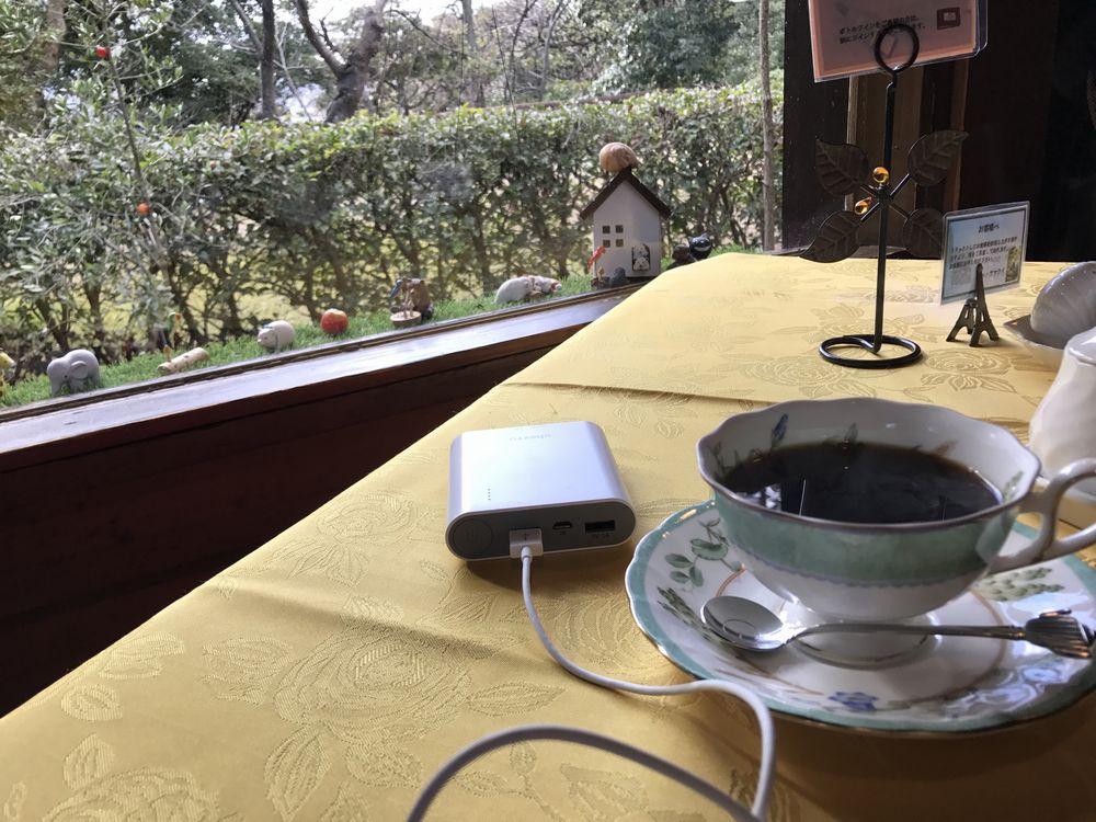 シェ・ヤマライのホットコーヒー