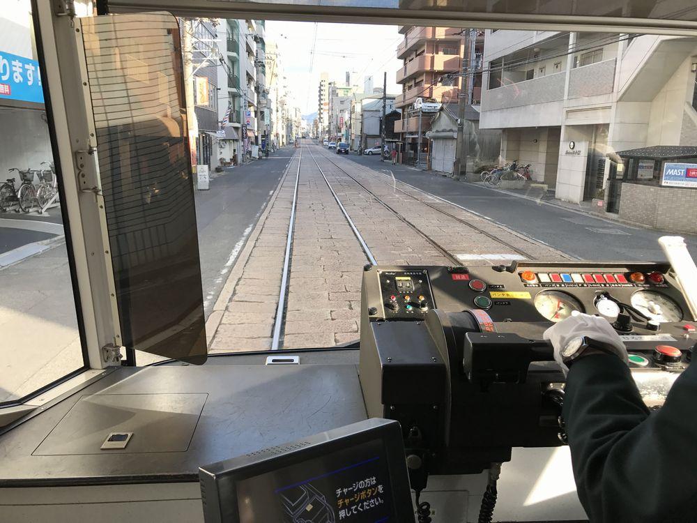 広島市電の車窓から2