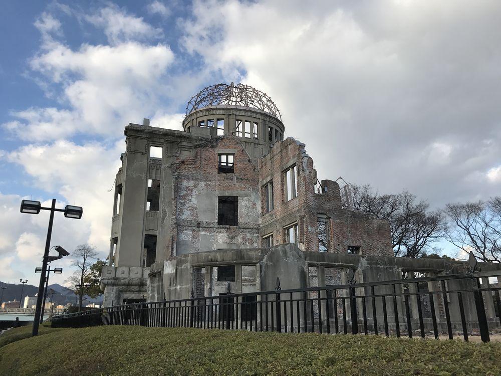 原爆ドーム前