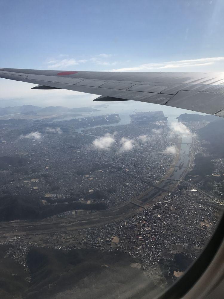福山市上空