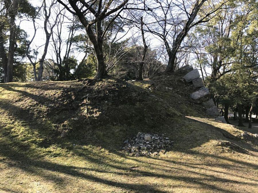 福島正則改易の原因となったといわれる石垣2