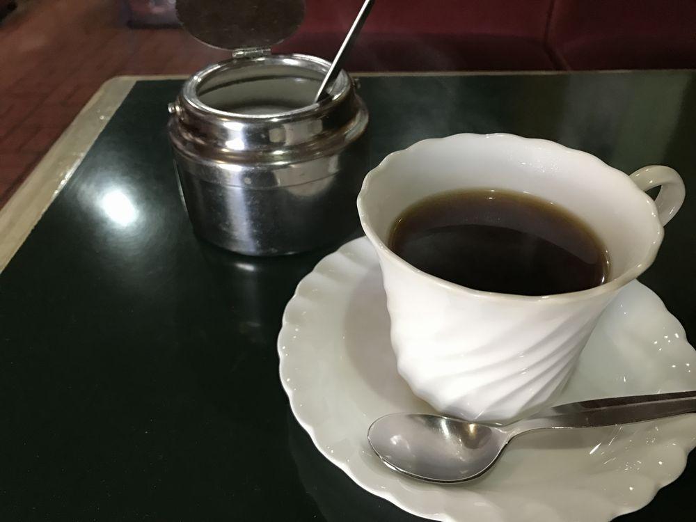 基町の純喫茶「園」のコーヒー