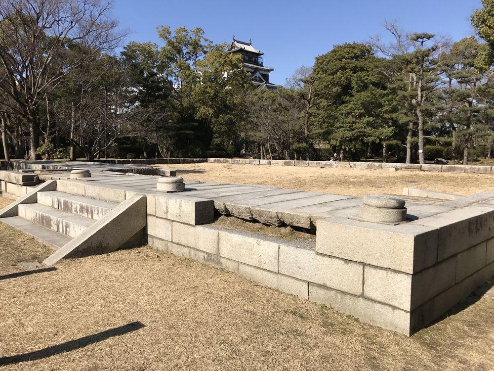 広島城の大本営跡2