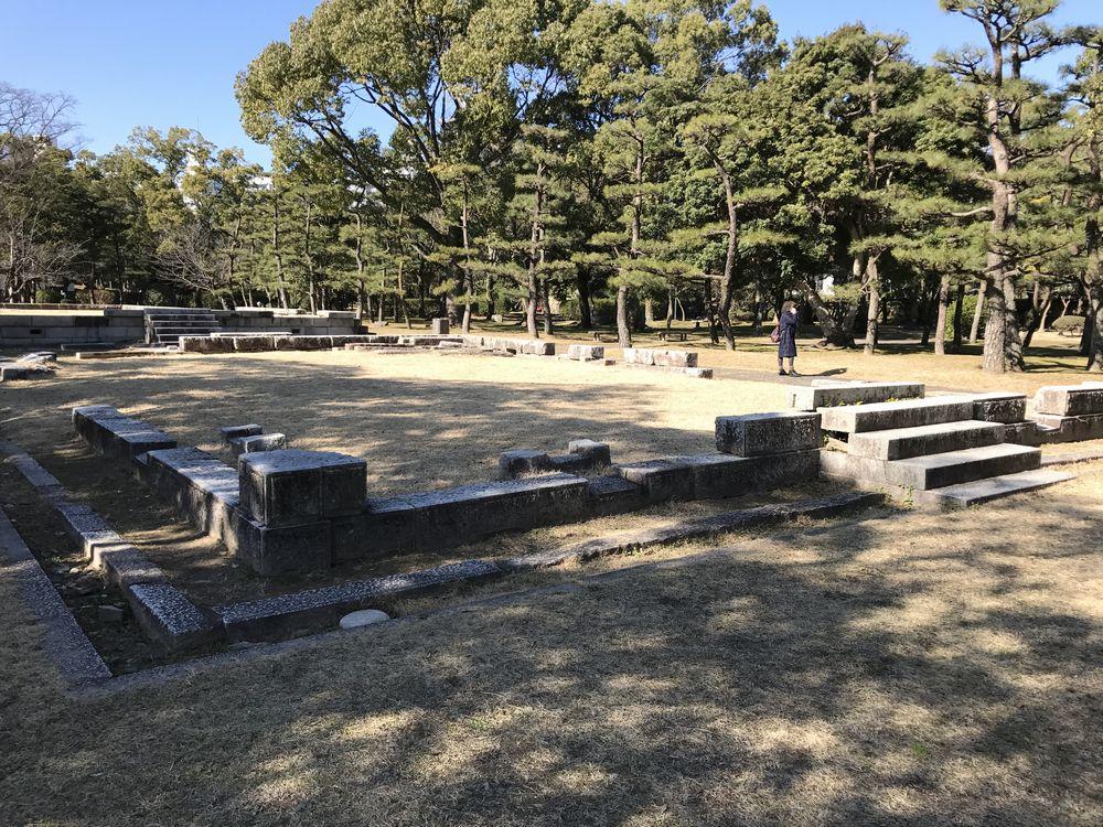 広島城の大本営跡3