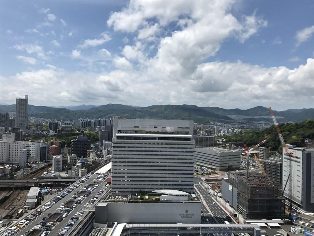 シェラトングランドホテル広島からの眺め1
