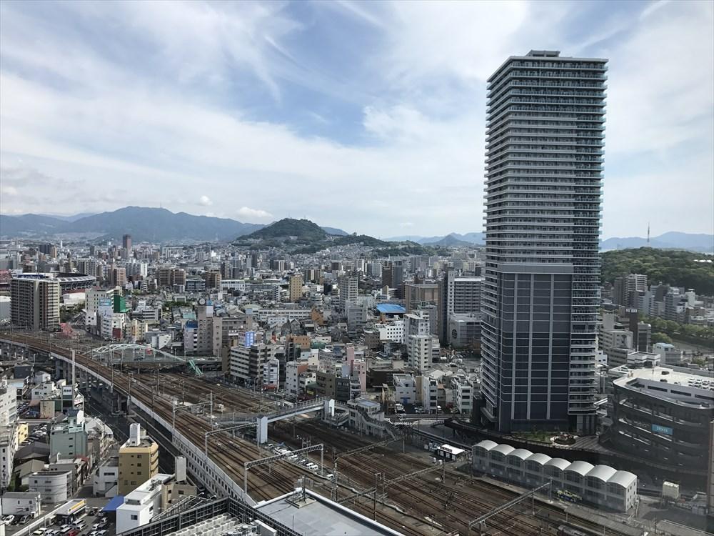 広島駅近くのタワーマンション
