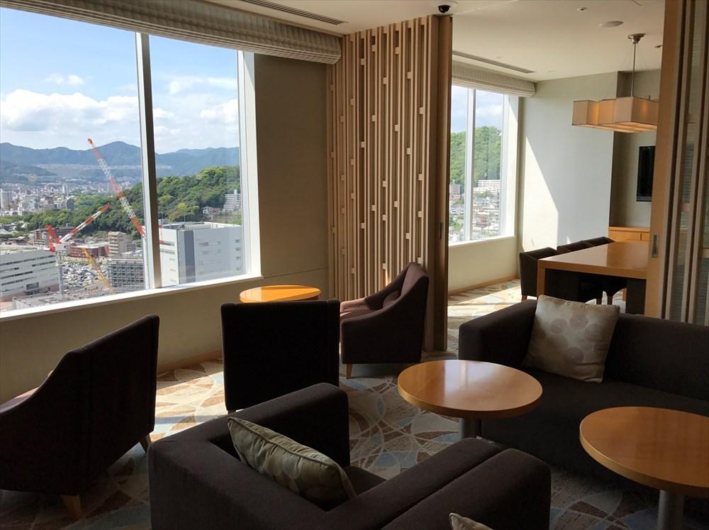シェラトングランドホテル広島のクラブルーム3
