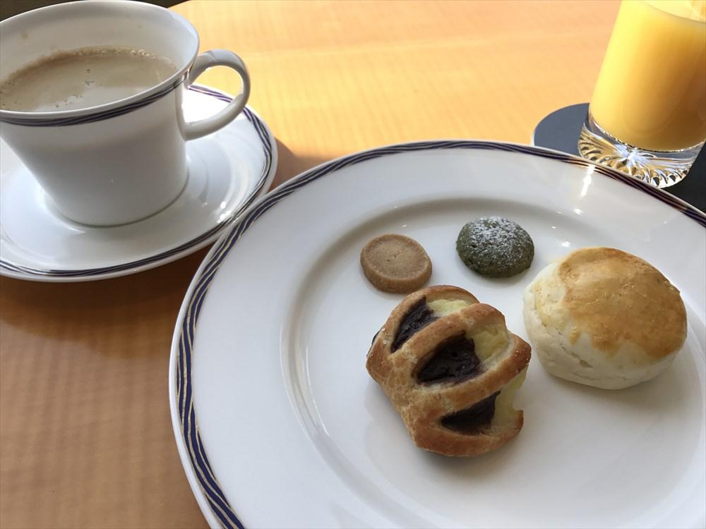 シェラトングランドホテル広島のクラブルームの朝食