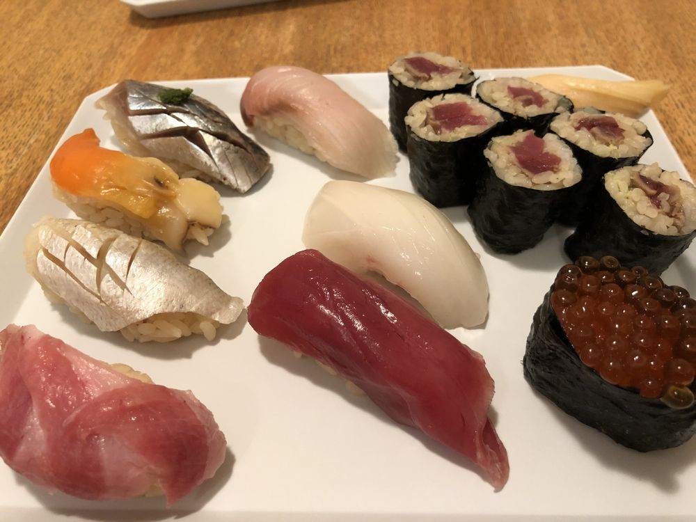 menuで「ひとのき」の寿司をデリバリー2