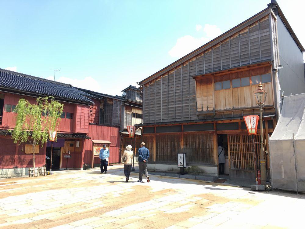 金沢のひがし茶屋街1