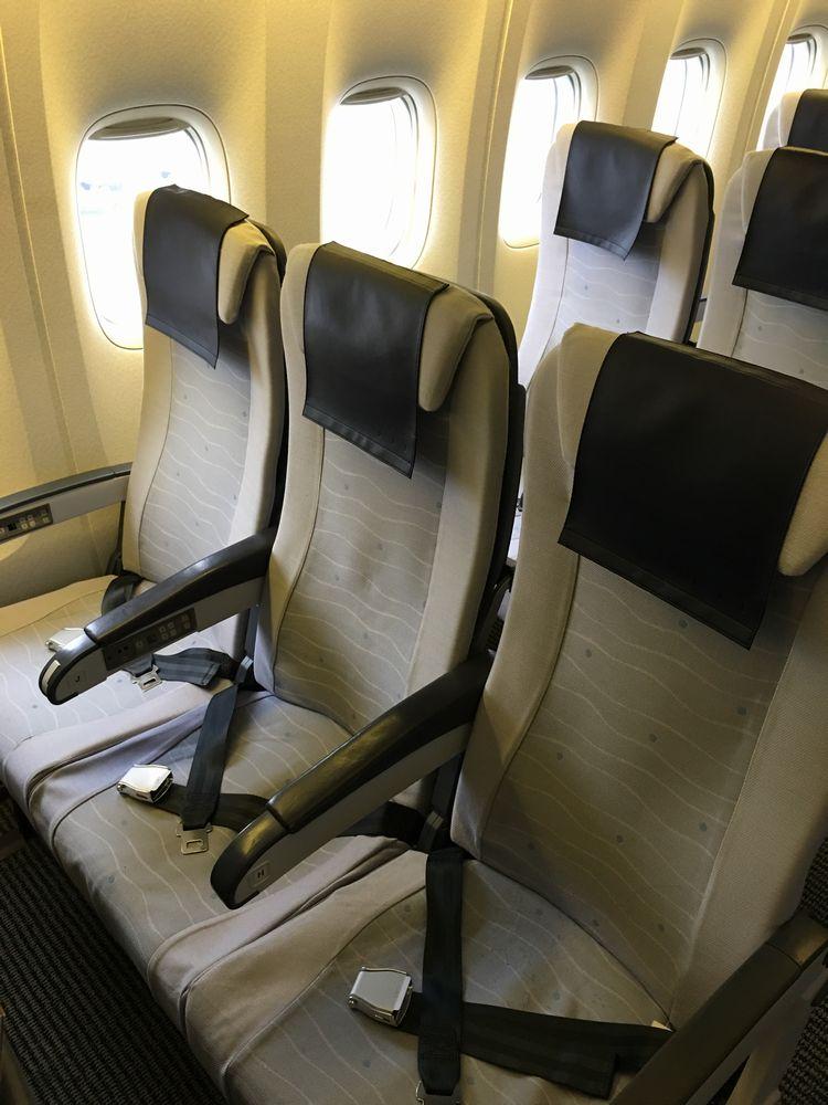 ANA751便の普通席