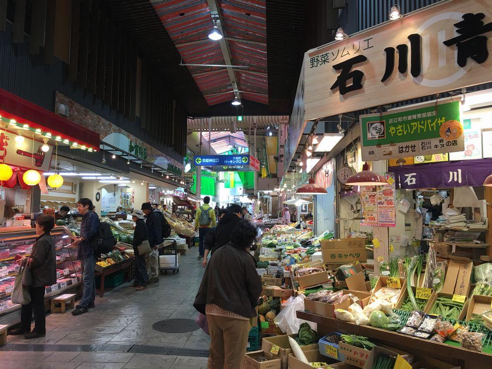 近江町市場見学1