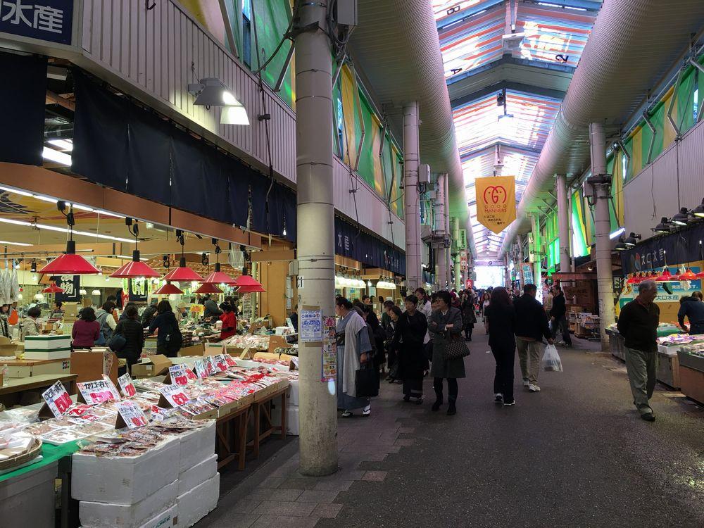 近江町市場見学2