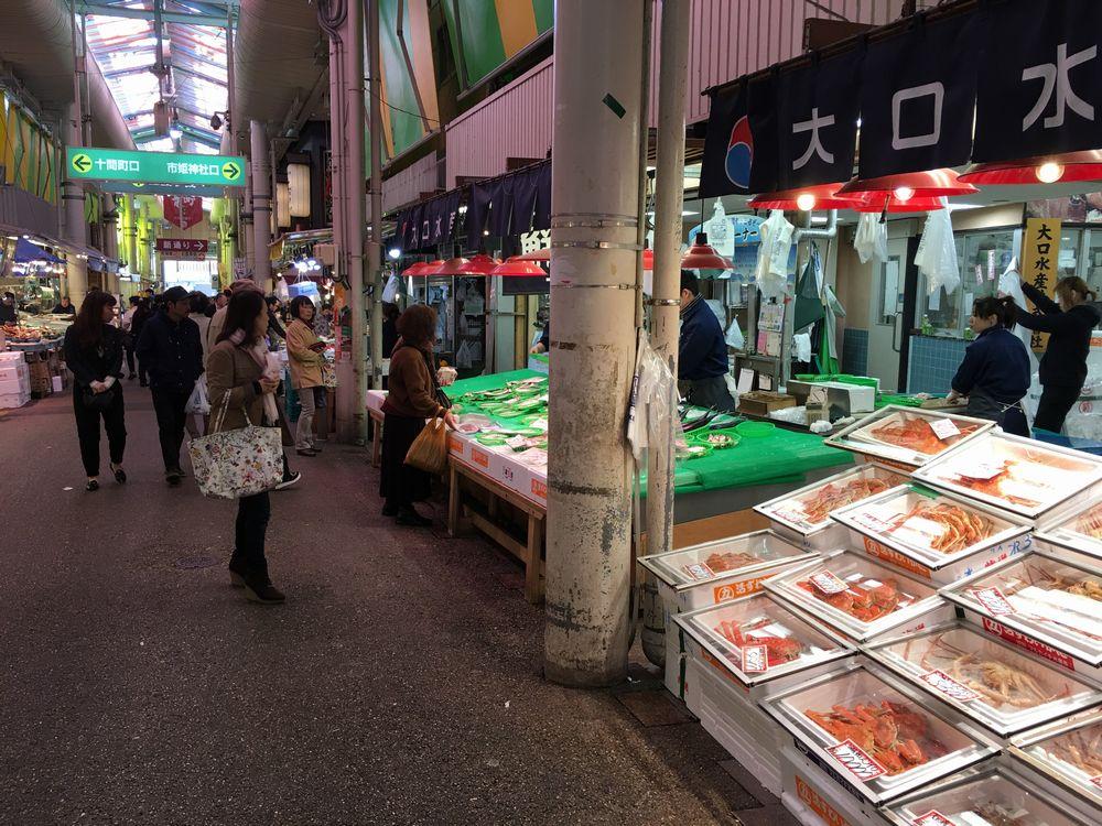 近江町市場見学3