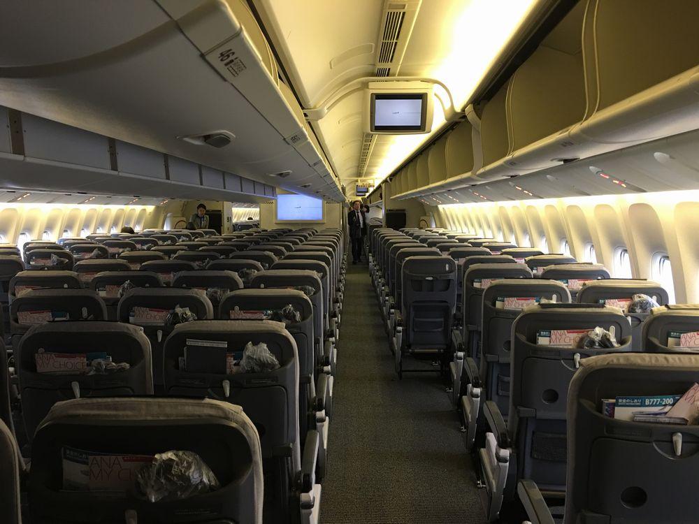 ANA751便の空席