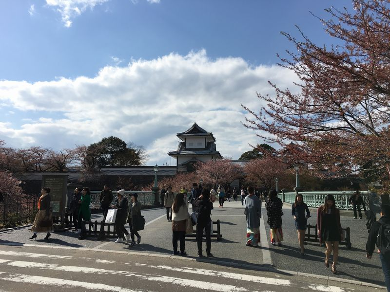 金沢城公園の入口