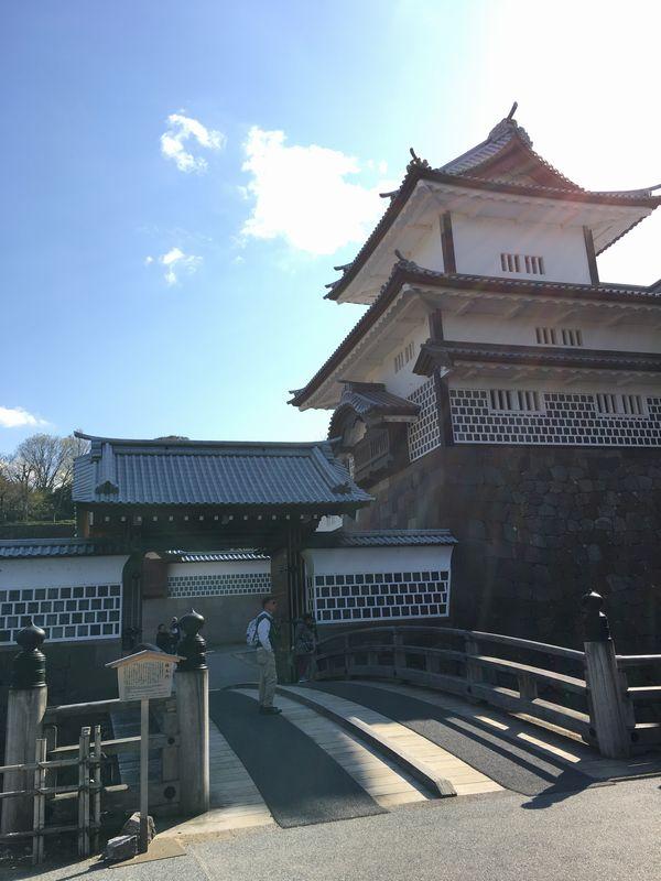 金沢城公園の橋爪門