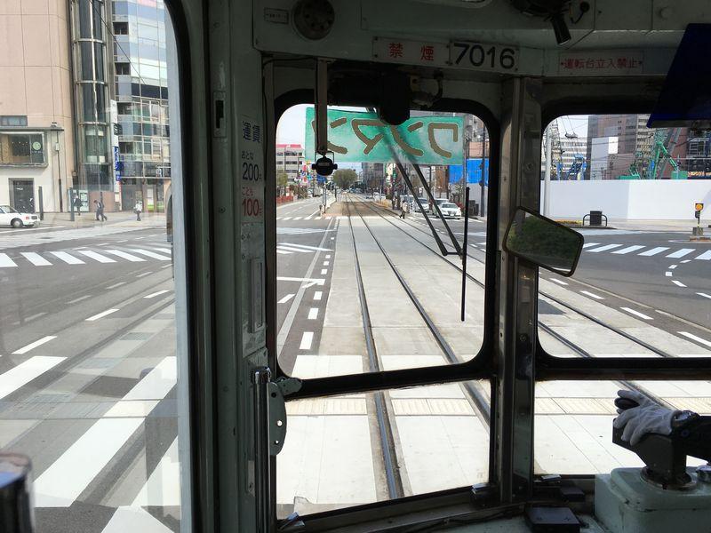 富山路面電車からの景色1