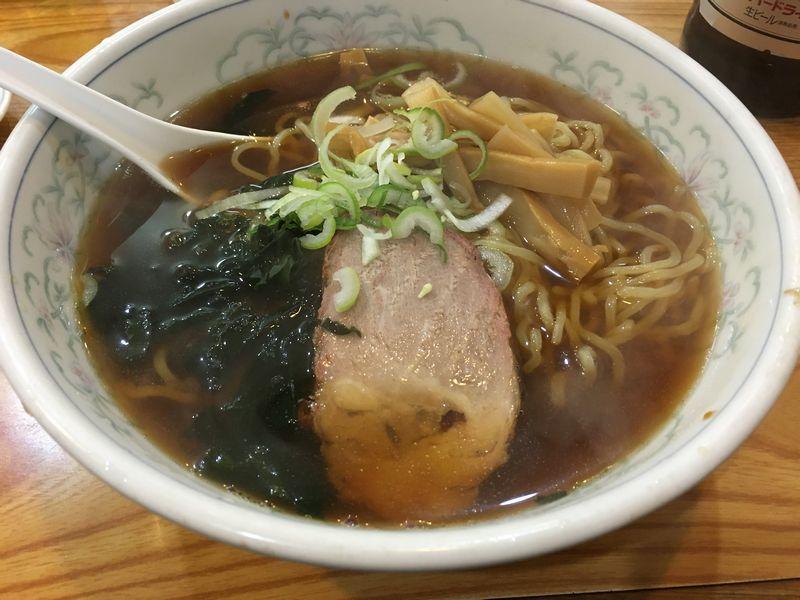 元祖中華つけ麺大王富山総曲輪店の醤油ラーメン