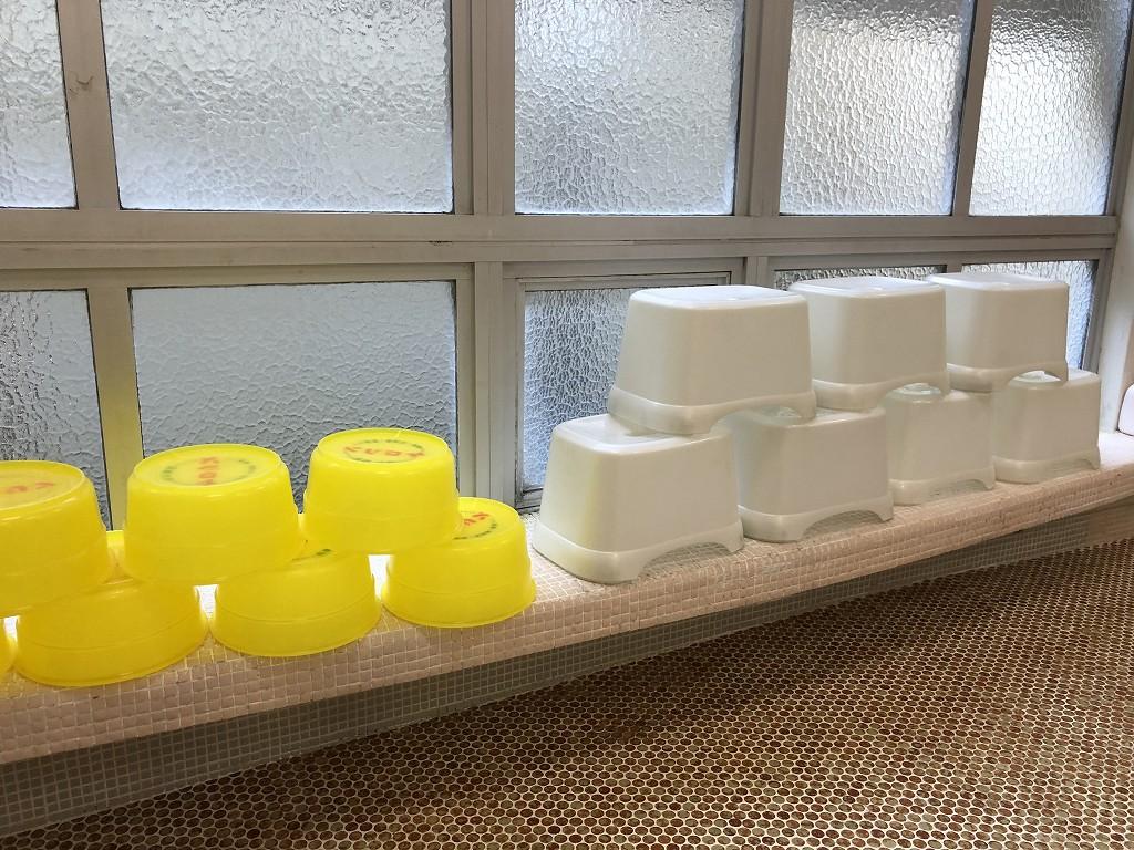 鳳明館森川別館のローマ風呂3