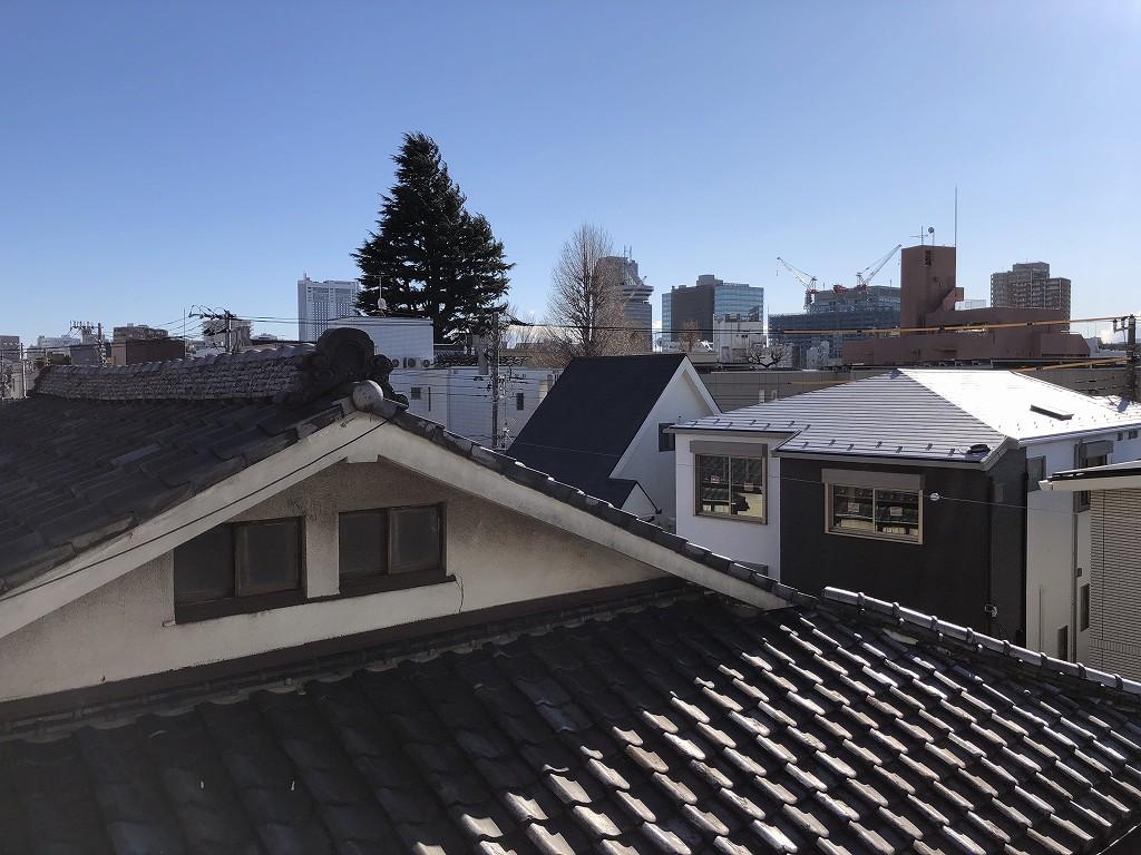 鳳明館森川別館から文京シビックホール