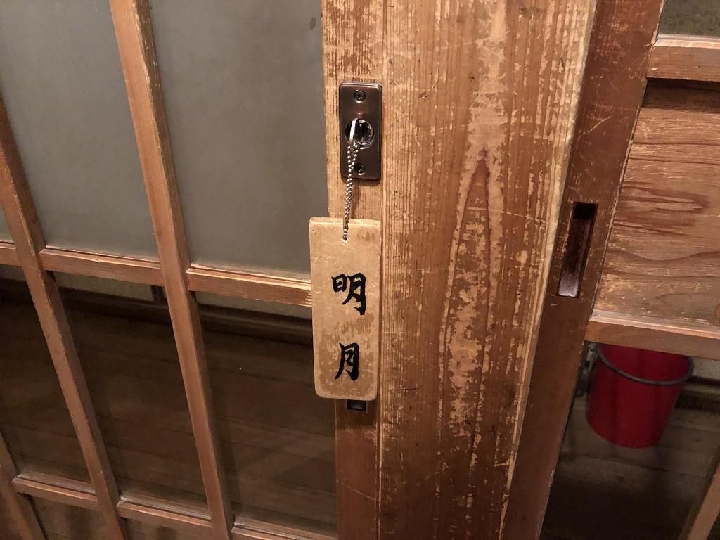 鳳明館森川別館の鍵