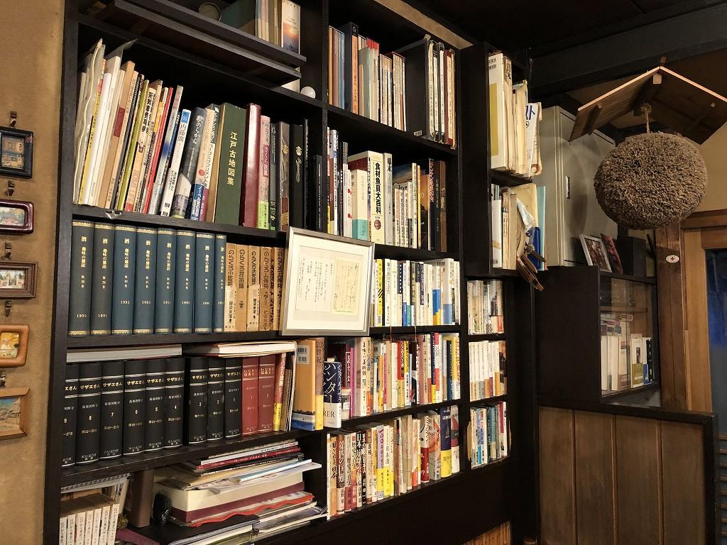 本郷の喜鮨の本棚2