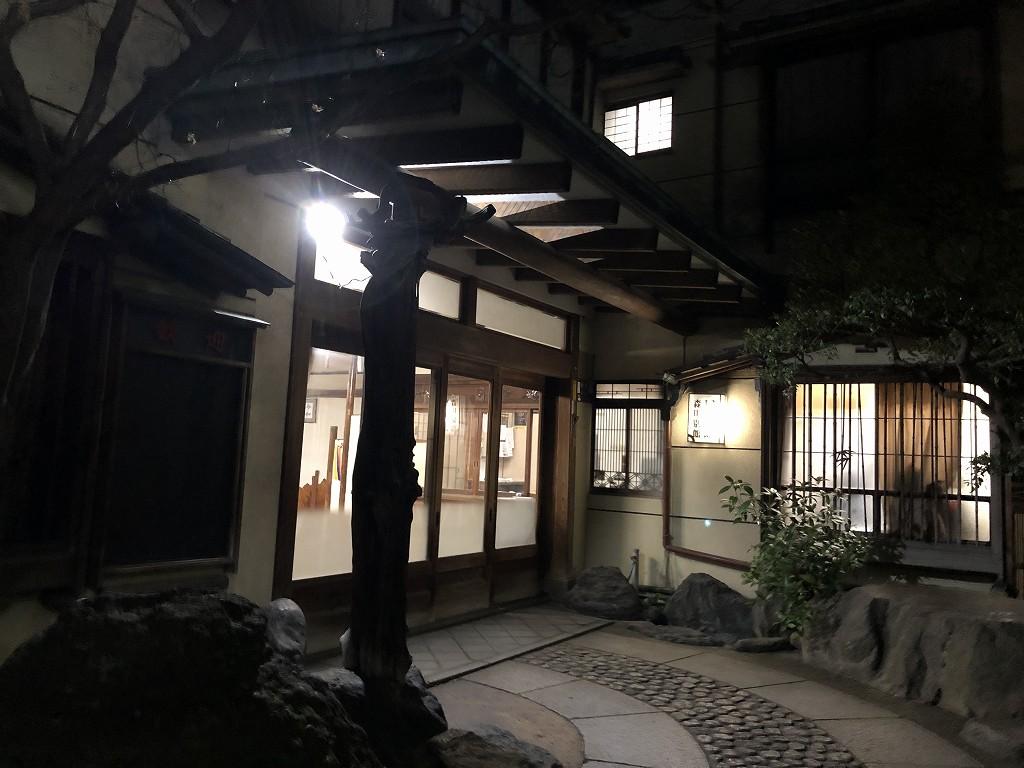 鳳明館森川別館(夜)