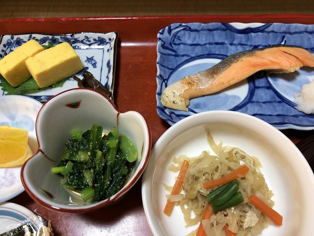 鳳明館森川別館の朝食2