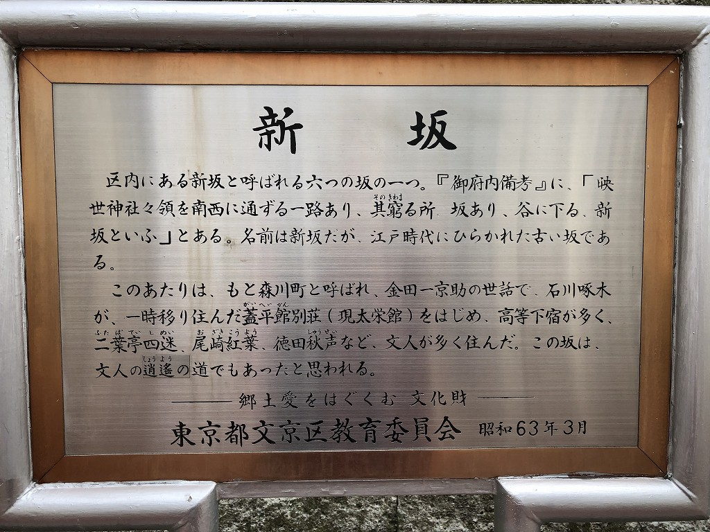 蓋平館別荘跡の新坂2