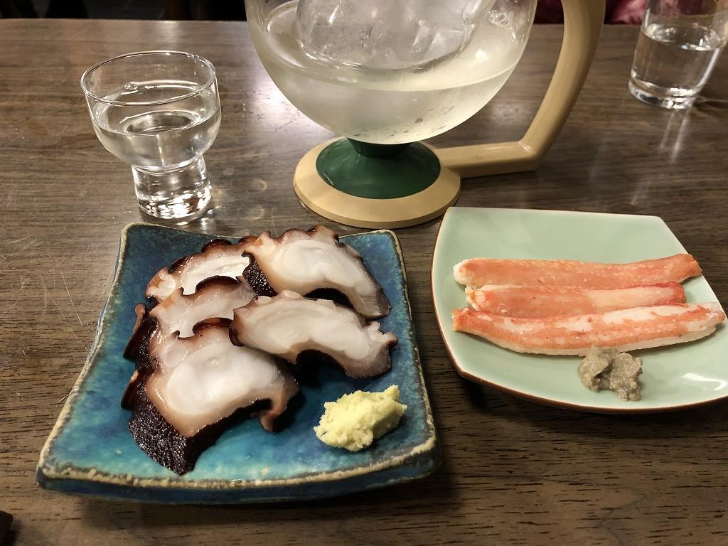 本郷の喜鮨のタコ