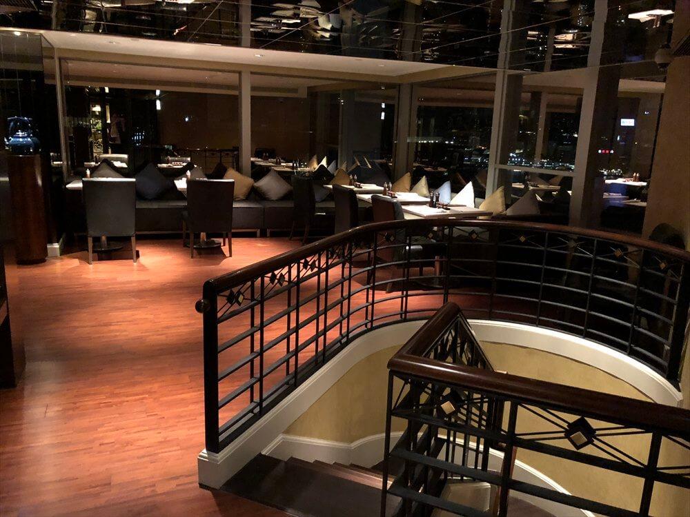 JWマリオットホテル香港のラウンジ1