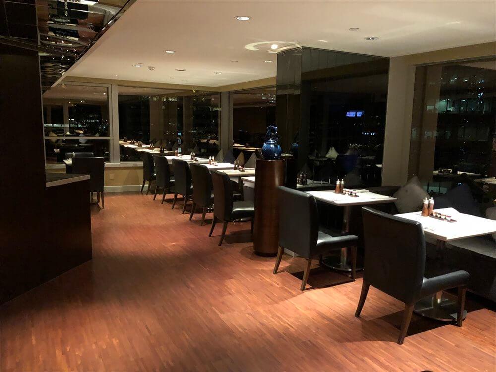 JWマリオットホテル香港のラウンジ2