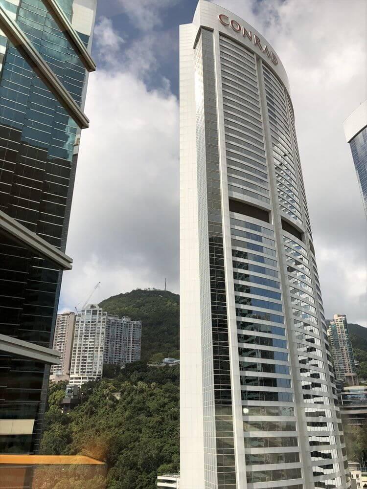 JWマリオットホテル香港からコンラッド香港