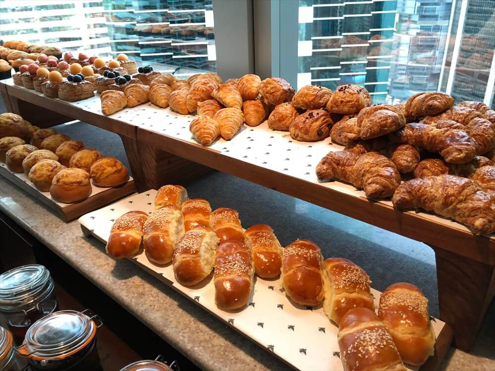 JWマリオットホテル香港の朝食1