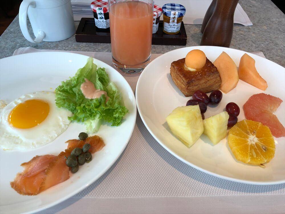 JWマリオットホテル香港の朝食8