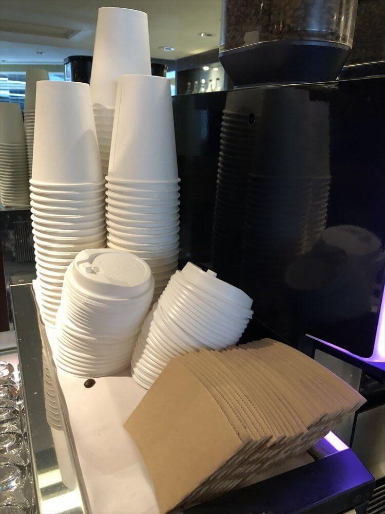 JWマリオットホテル香港の持ち帰りコーヒー