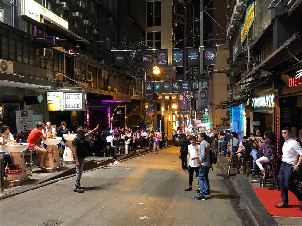 香港のランカイフォンの盛り上がり