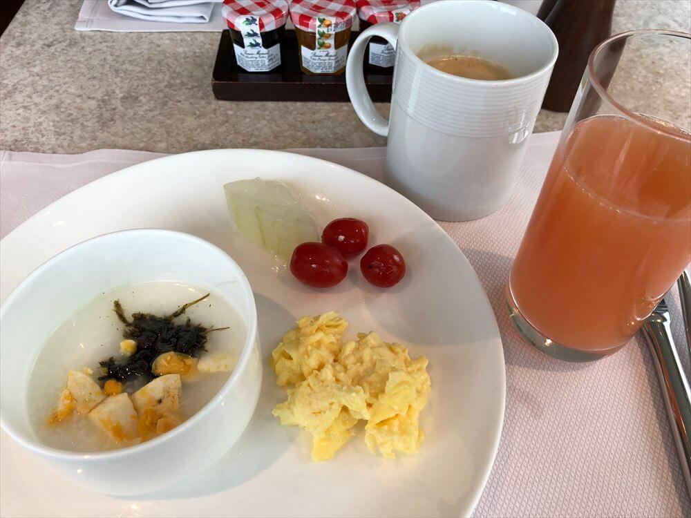 JWマリオットホテル香港の2日目の朝食