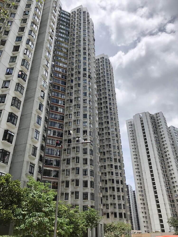香港島の高層団地2