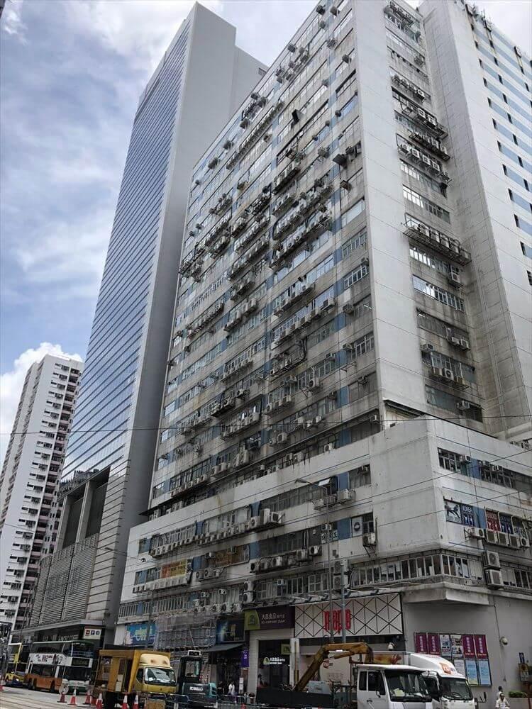 香港島の高層団地3