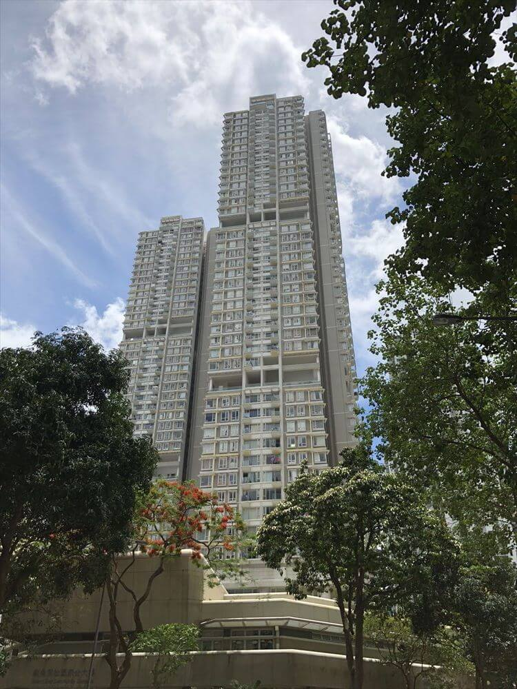 香港島の高層団地4