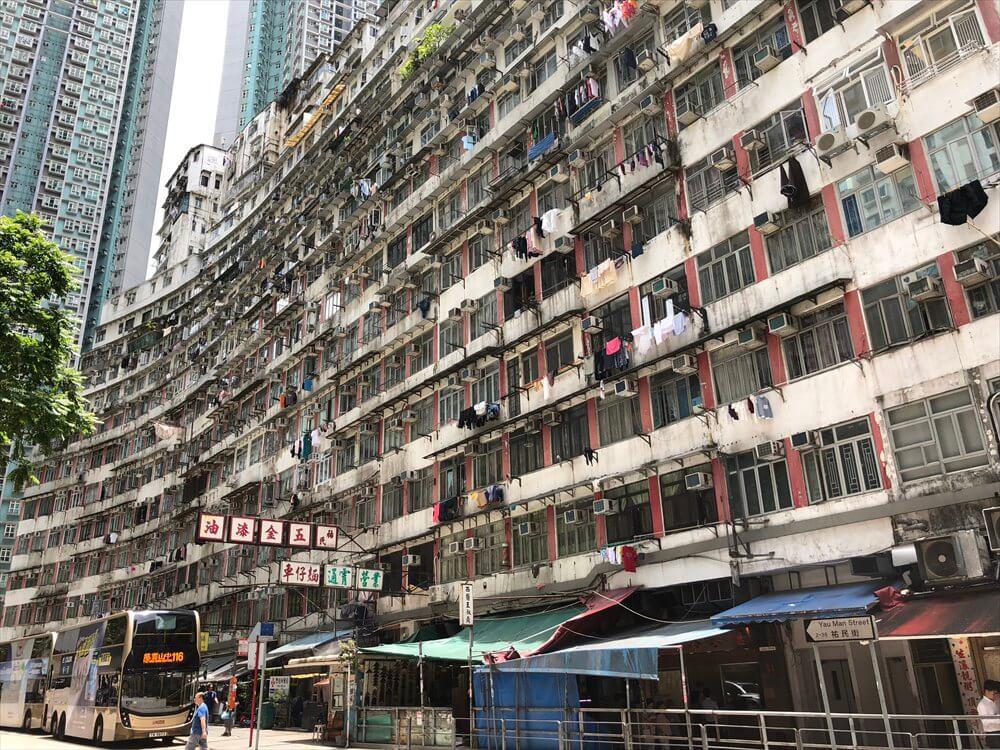 香港島の高層団地5