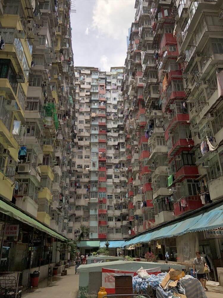 香港島の益昌大厦1