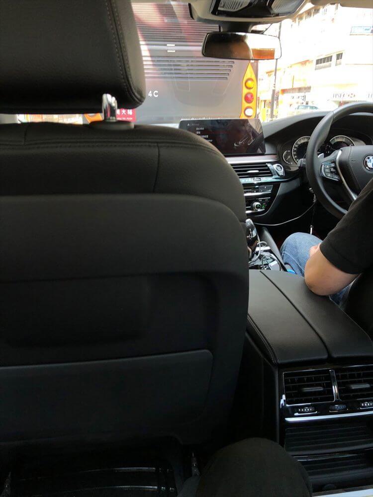 UberのBMW5シリーズの乗り心地