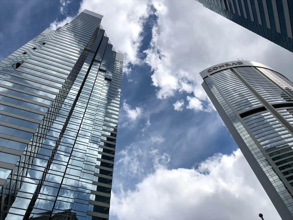 JWマリオットホテル香港の外観