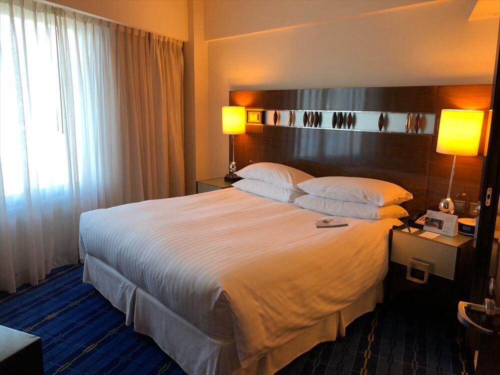 香港スカイシティマリオットホテルのエグゼクティブ オーシャンビュー・スイート2