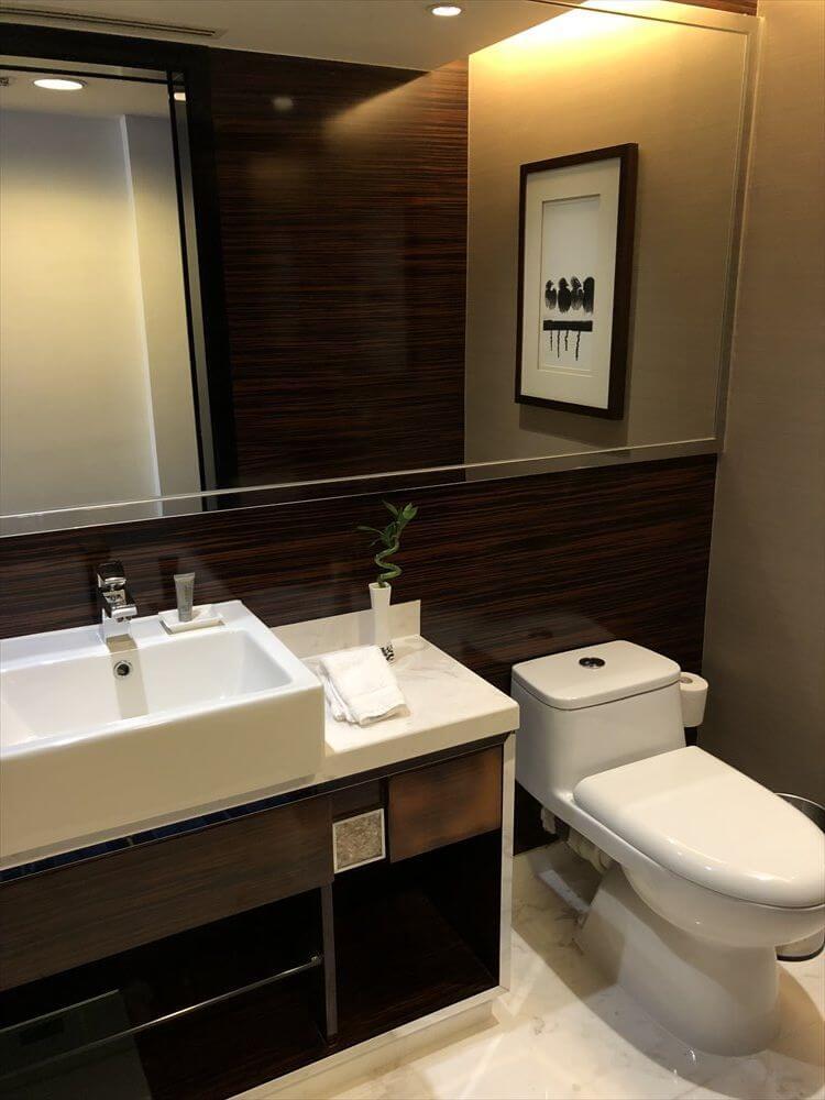 香港スカイシティマリオットホテルのエグゼクティブ オーシャンビュー・スイート4