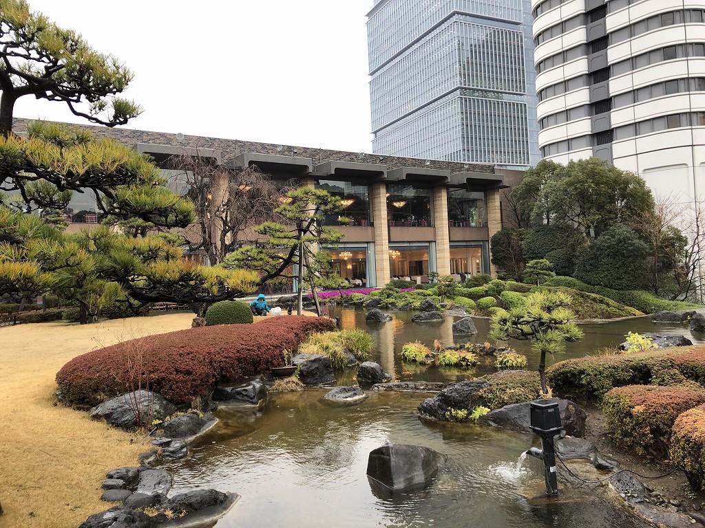 ホテルニューオータニの日本庭園を散策(昼)1