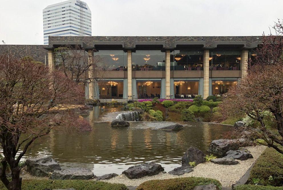 ホテルニューオータニの日本庭園を散策(昼)4